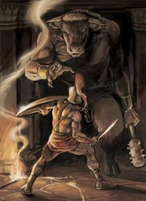 mitologia-teseu-e-o-minotauro