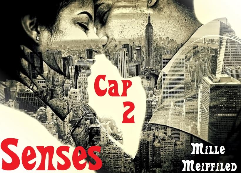Casal Apaixonado - Beijo sobre Nova Iorque